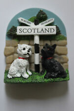 Elgate Scottie Dog & Westie, Scotland Magnet - Job Lot x 72