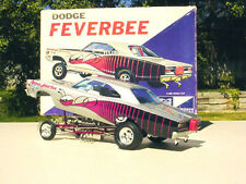 1968 Dodge Super Bee - Feverbee 11/64th HO Scale Slot Car WATERSLIDE DECALS
