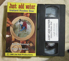 Just Add Water Instant Rodeo Star Kayak freestyle VHS McDonough Benedict Holt