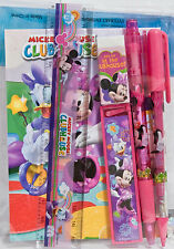 Disney Mickey Mouse Minnie Clubhouse Stationary Set Party School Supply