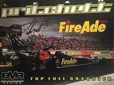 Leah Pritchett Signed 8 X 10 Photo Nhra  Drag Racing Autographed
