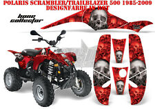 AMR Racing DECORO GRAPHIC KIT ATV POLARIS interferenzaNverso/Trailblazer Bone Collector B