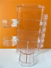 Playmobil Dollshouse/hotel dressing room/Shop clear display shelving unit NEW