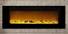"Electric Fireplace Sideline60™ 60"" Inset Design Recessed Touchstone"