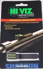 "HiViz LiteWave Rifle 3/8""Dovetail Rear Sight Replacement UNI2006"