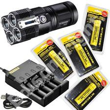 Nitecore TM26 3800 lumen Flashlight/Searchlight Tiny Monster with 4 X 18650 batt