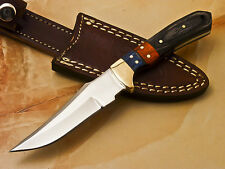 HAND MADE STAINLESS STEEL BLADE FULL TANG KNIFE - HARD WOOD -T-420