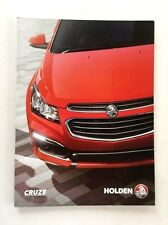 2016 Holden Cruze 22-page Australia Car Sales Brochure Catalog - Chevrolet