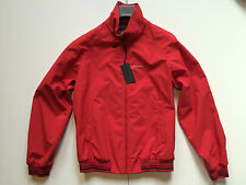 PRADA Jacke Blouson, Rot 52, Original,  PRADA Luxury Red Jacket  Size 52 New