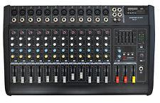 12 KANAL POWERMIXER 1400 watt