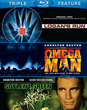 SOYLENT GREEN/LOGAN'S RUN/OMEGA MAN (NEW BLU-RAY)