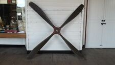 WW 1 BE2c Biplane Four Blade Propeller