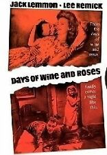 DAYS OF WINE AND ROSES Jack Lemmon DVD R4 NEW - PAL