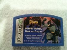 Leapster BATMAN MULTIPLY DIVIDE CONQUER Game Cartridge Leap Frog