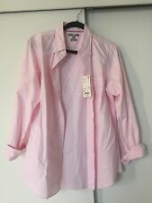 UNIQLO Pink Oxford Slim Fit Long Sleeve Shirt Size: Medium (NWT)