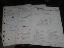 OEM FACTORY HONDA SERVICE BULLETIN 10 PAGES 1982 V45 SABRE MAGNA