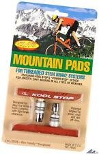 Kool-Stop Mountain Threaded Post V-Brake Pads Salmon Wet / All-Weather Pads MTB
