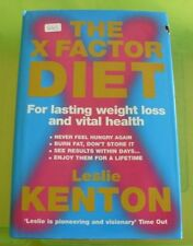 0663 - X FACTOR DIET Book By Leslie Kenton Lasting Weight Loss