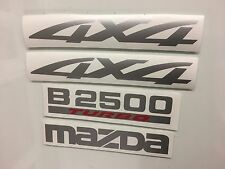 Mazda B2500 Replacement decal sticker kit for your truck 4X4 . non oem