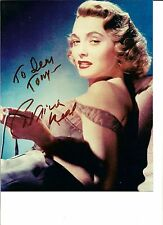 Patricia Neal Autographed 8x10 photo - Pose 2