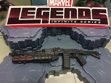 MARVEL LEGENDS (DEADPOOL) GUN RIFLE/GRENADE LAUNCHER FOR 1:12 / 6 IN FIGURE