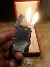 Rollagas Lighter 50~ I m corona twin flame barley silver plated boxed , serviced
