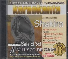 Shakira Serie Disco De Oro Vol 108 Karaokanta New Sealed
