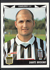Panini Belgian Football 1999 Sticker - No 117 - Charleroi - Dante Brogno