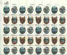 Scott #1834/7...15 Cent...Indian Art...Sheet of 40 Stamps