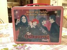 The Osbourne Family Neca Limited Edition Metal Lunchbox w Thermos Brand New RARE