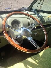 "Steering Wheel 16"" Wood Rim for Splitscreen VW Bus Camper Type 2 T2 bulli AAC089"