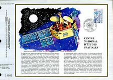 DOCUMENT CEF PREMIER JOUR  1982  TIMBRE N° 2213 SATELLITE EOLE FUSEE ARIANE