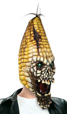 DELUXE EVIL CORN SCARECROW TV FILM SCARY VEG OVERHEAD LATEX MASK HALLOWEEN NEW