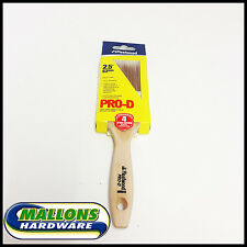 "Fleetwood Paint Brush 2.5"" 63mm Pro D Super Smooth Finish Ideal For All Paints"