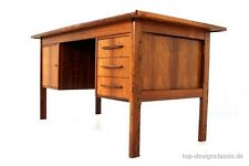 like new, 1a restored! Danish Mid Century Rio Palisander Rosewood Writing Desk