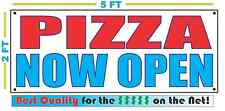 PIZZA NOW OPEN All Weather Banner Sign Best Quality of the $$$ RESTAURANT