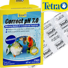 Correct pH 7.0 Tablets Maintain Neutral Freshwater Raise/Lower 8 Tablets Tetra