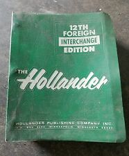 THE HOLLANDER 12TH FOREIGN INTERCHANGE EDITION