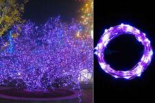 LED Lichterkette Micro Drahtlichterkette Leuchtdraht Deko Draht  20/30/40  LEDS