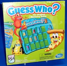Guess Who Original Guessing Game Hasbro 2013 4 Character Cards 8 Options A046