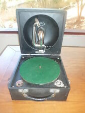 Antique Vintage Decca Portable Phonograph Gramophone