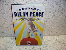 Now I Can Die in Peace ( Boston Red Sox ) Hardback Book Out of Print