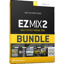 NEW ToonTrack EZMix 2 COMPLETE Production Bundle - Music Production Software