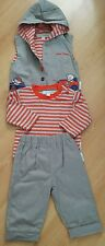 NURSERY TIME BABY BOYS shirt Trousers gilet SET of 3 pieces. Size 12 -18 months.