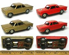 1960s Tootsie Toys 1/43ish Diecast Electric Slot Race Car CORVAIR PAIR 1:43 #2&5