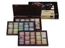 Rembrandt Artists Soft Pastels - Full Size Pastel - Wooden Box Set 225 Assorted