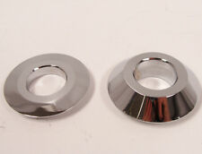 Harley XL Sportster 08 Later Chrome Front Wheel Spacers 41370-08 - A116