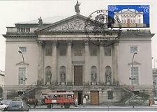 Staatsoper Berlin 250 Jahre  Maxikarte von 1992 BRD