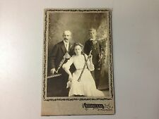 Antique Music Photograph - Cabinet Card- Family of Clarinetists - St. Mary's, ON