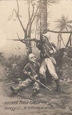 (2) Guerra Italo Turca - Coraggio La Vittoria ci Arride -